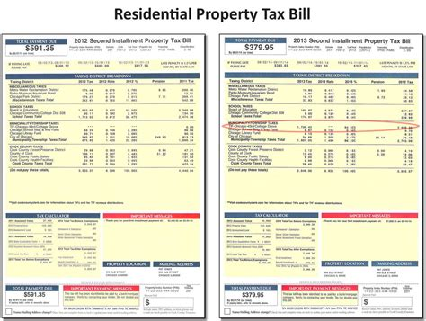Cook County Number Search Cook County Property Tax Bill Wowkeyword