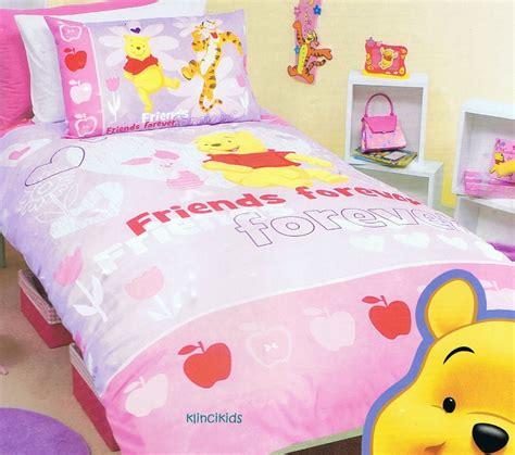 disney winnie the pooh bed quilt duvet doona cover set new ebay