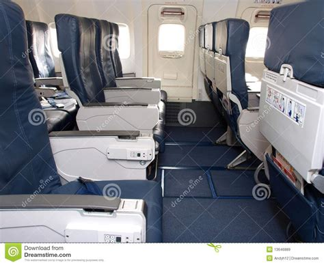 aircraft seat upholstery airline seats royalty free stock images image 13646889