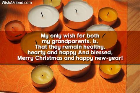 christmas message  grandparents