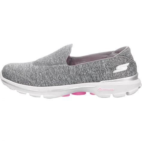 Skechers Go Walk 3 skechers go walk 3 balance damen sneaker graumeliert
