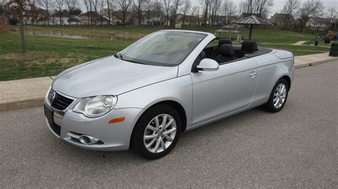 volkswagen convertible eos 2007 volkswagen eos convertible t80 houston 2016