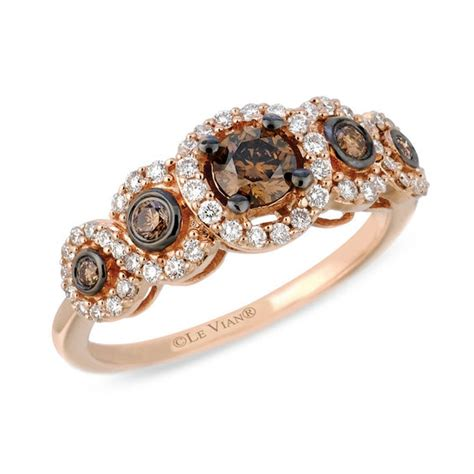 le vian chocolate diamonds 174 3 4 ct t w frame