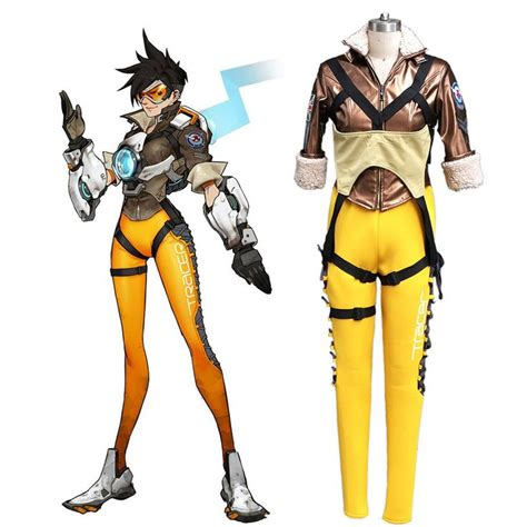 Set Costume Dgray Lena 566 best images about on decorations overwatch tracer and pumpkins