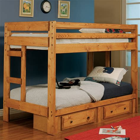 coaster fine furniture  twin  twin bunk bed atg stores
