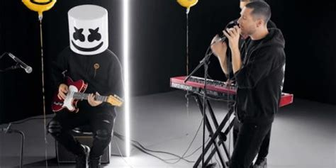 marshmello and bastille marshmello and bastille perform during the voice finale