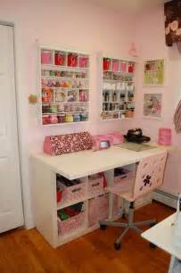 Craft Desk Storage Ideas by Pin By April De On Craft Room