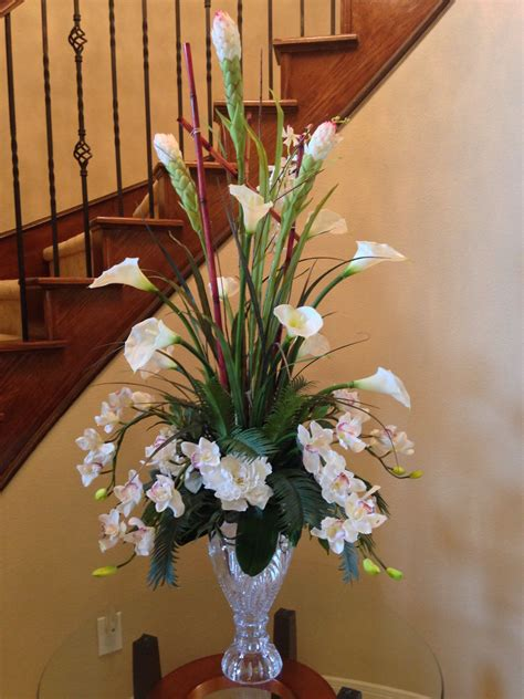 calla lily home decor calla lily with orchid flower arrangement for perfect