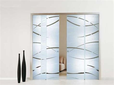 porte da interni con vetro porte scorrevoli vetro satinato porte per interni