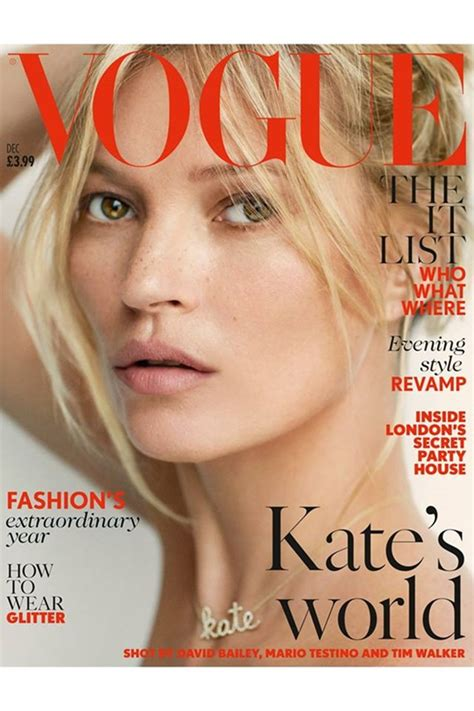 Features Cbell And Kate Moss Shine On The Cover Of Vogue by 보그의 뮤즈 케이트 모스 40대의 황금 몸매 선데이 Gt 기사 더팩트