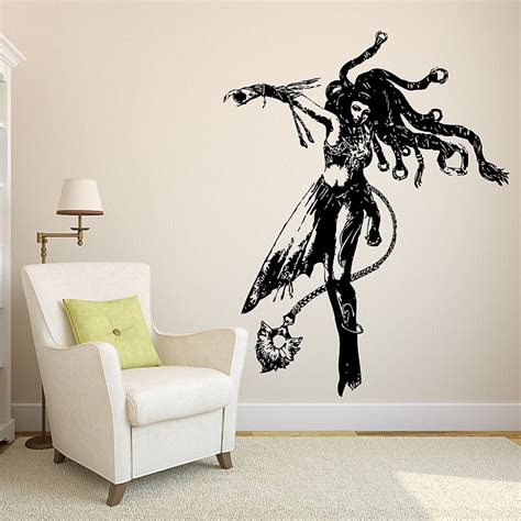 Angel Wall Stickers shiva from final fantasy x vinyl wall art decal