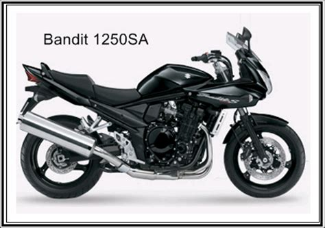 Suzuki Bandit 1250sa Review Suzuki Bandit 1250sa Specifications Motorcycle Review