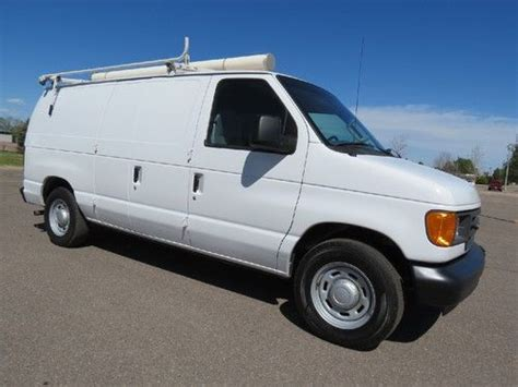 automobile air conditioning service 2006 ford e series transmission control find used 2006 ford e150 cargo van 1 company owned tons of service records w racks 4 6 v8 in