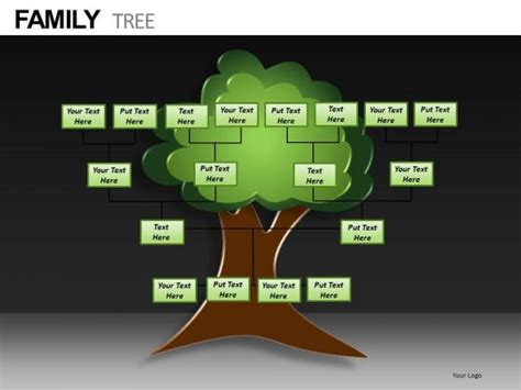 powerpoint genealogy template best photos of family tree chart template powerpoint