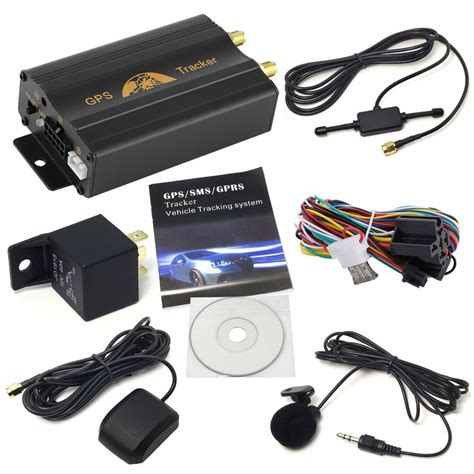 car gps tracker gsmgprs tracking device remote control