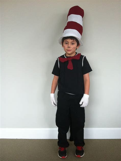 pattern for cat in the hat costume the contemplative creative cat in the hat costume