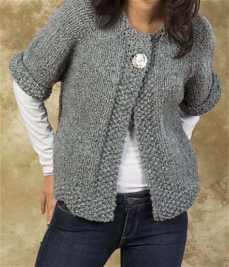 swing cardigan knitting pattern quick sweater knitting patterns in the loop knitting