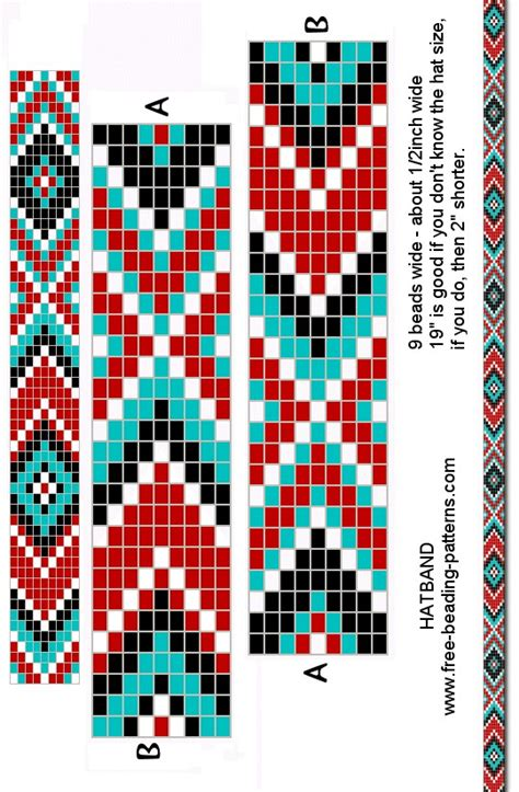 loom beading bracelet pattern   Beading   native american   Pinterest