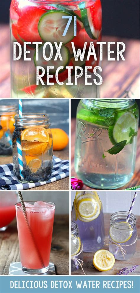 Tasty Detox Recipes by 71 Delicious Detox Water Recipes To Help You Lose Weight