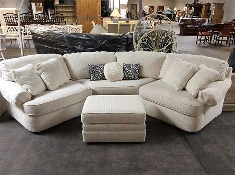 crescent shaped sofa uk 3pc shuford crescent shaped sectional w ottoman