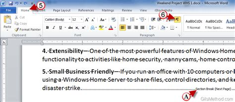 section in word create sections in word 2010 to use multiple page formats