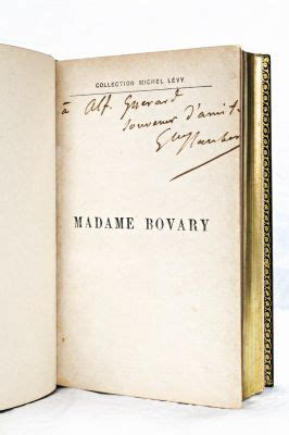 madame bovary edition books flaubert madame bovary autographe edition originale
