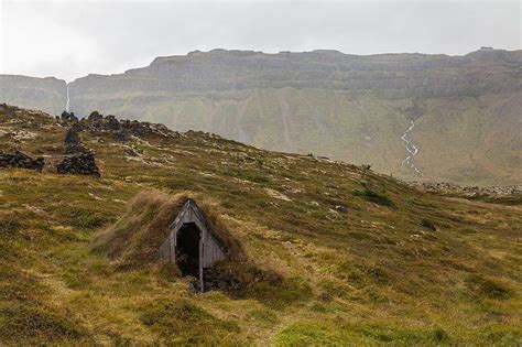 Berm Houses by Green Design Abandoned Turf House In Iceland Urban Ghosts