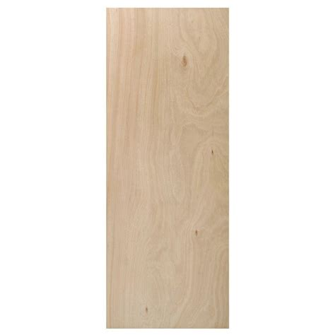 Home Depot Interior Slab Doors Steves Sons 36 In X 80 In Flush Hollow Unfinished Hardwood Interior Door Slab