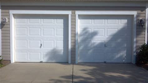 2 door garage two single garage doors before a plus garage doors
