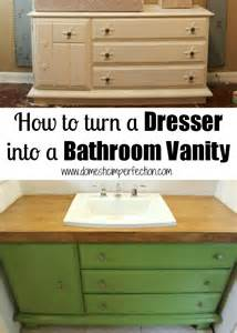 small master bath makeovers on dresser to