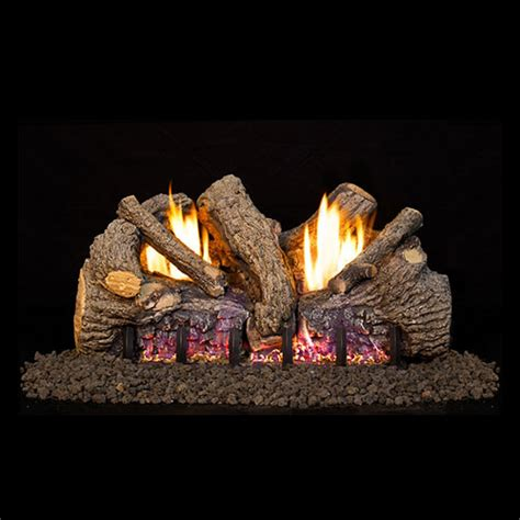Peterson Fireplace Logs by 24 Quot Foothill Oak Vent Free Logs G19 Ansi Certified