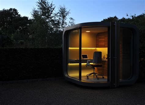 backyard office pod 14 futuristic backyard offices nooks and pods