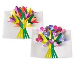 free printable flower pop up card templates 6 best images of printables pop up card 3d flowers pop