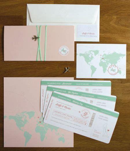 Hochzeitseinladung Boarding Pass by Wedding Invitation Boarding Pass Hochzeitseinladung