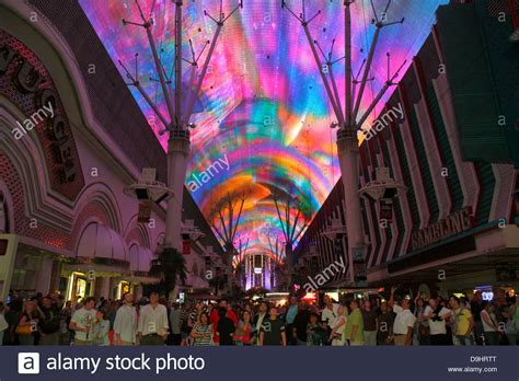 Viva Vision Light Show by Nevada Las Vegas Downtown Fremont Experience