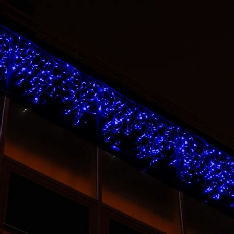 114 blue led indoor icicle light connectable 3m x 0 5m