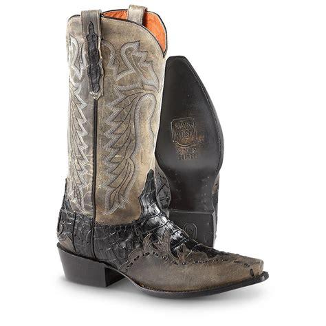 mens black cowboy boots 100 s dan post caiman boots black 594045 cowboy