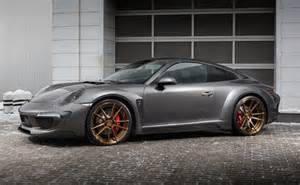 Porsche 911 4s Topcar Develops Carbon Fibre Wide Kit For 991 Porsche