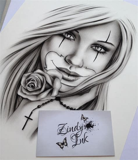 chicano beauty zindy ink tattoo artist illustrator