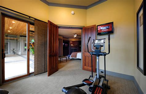 home gym in bedroom idea house traditional home gym other metro by