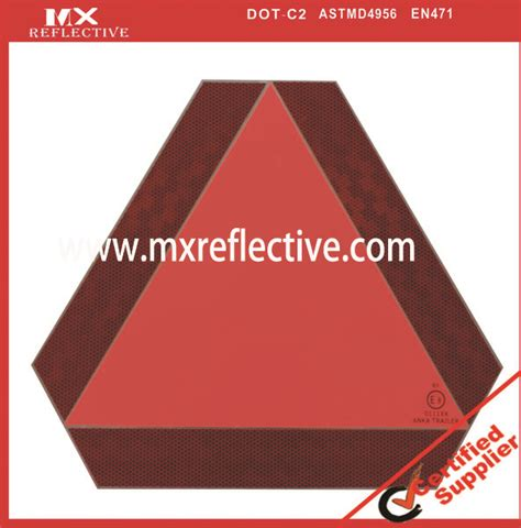 triangle pattern reflective tape conspicuity vehicle marking tape mingxing reflective