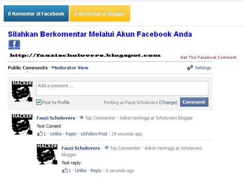 membuat komentar facebook di wordpress cara membuat kotak komentar fb dan blog berdingan di
