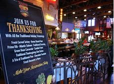 Restaurants Open Thanksgiving Day - Orange County Zest Famous Dave's Menu