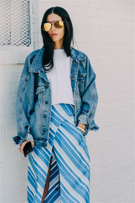 Guess Who Eats The Least During Fashion Week by Eat Sleep Denim Jean Jackets 12 Ways On The