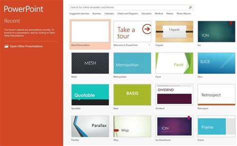 10 Ways Powerpoint 2013 Gets More Polish Pcworld Powerpoint 2013 Templates Free