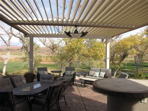 Equinox Louvered Patio Roof Patio Covers Patio Louvered Roof