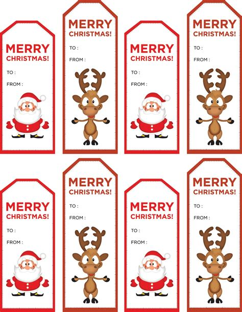 printable gift tags from father christmas 40 unique printable christmas gift tags kitty baby love