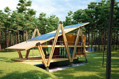 how to design an energy efficient house energy efficient grasshopper shaped house modern house designs