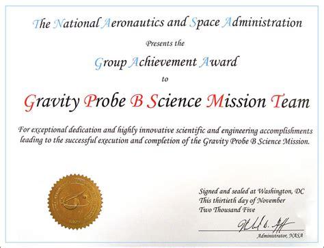 certificate of achievement marine and antarctic science