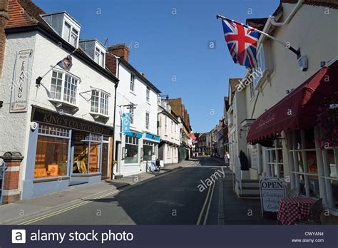 houses to buy in dorking antique shops on west street dorking surrey england united stock photo royalty